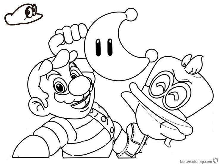 Free Coloring Pages Mario 3D World, Download Free Clip Art, Free ... | 552x736