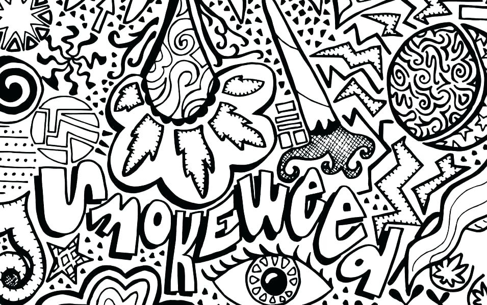 - Weed Coloring Pages Ideas - Whitesbelfast