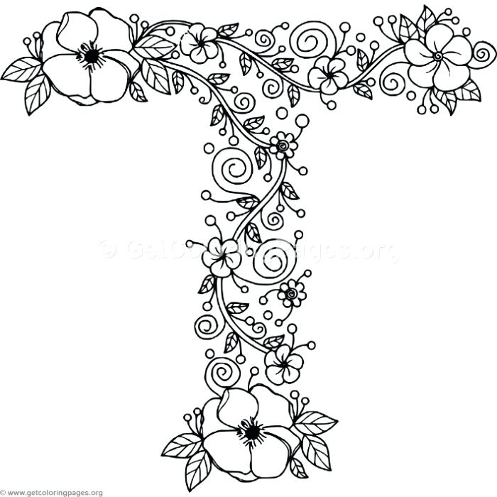 Letters Coloring Pages Picture Whitesbelfast