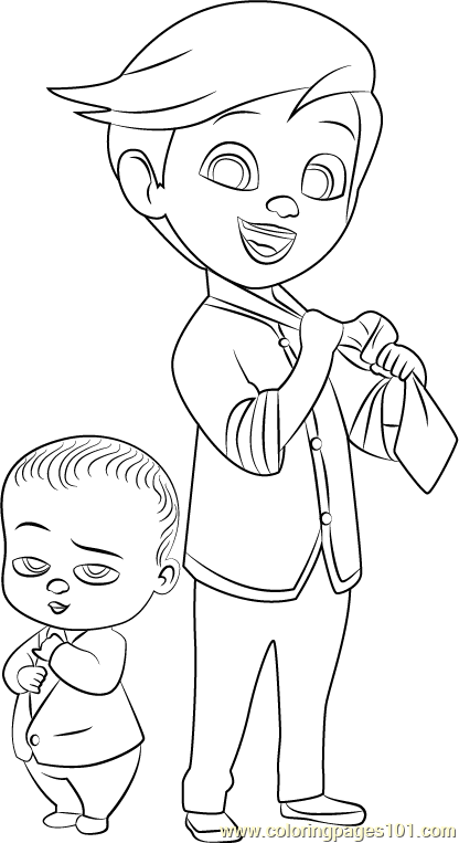 Boss Baby Coloring Pages Ideas Whitesbelfast Com