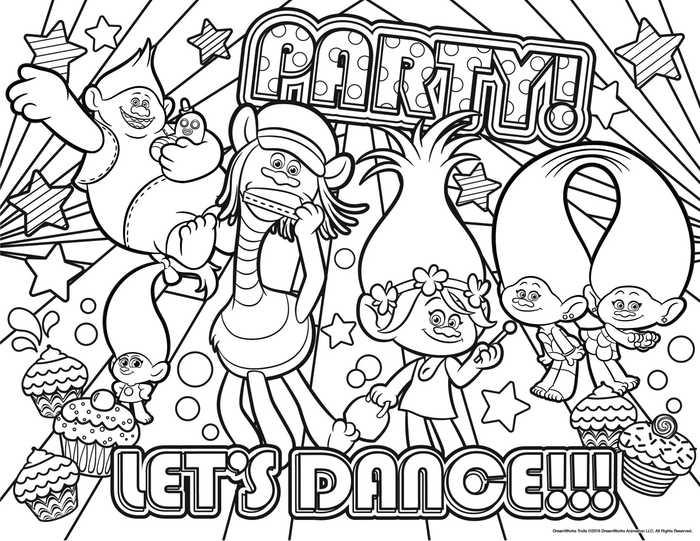 - Coloring Pages Trolls Pictures - Whitesbelfast
