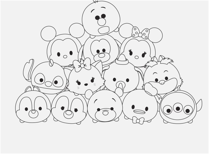 - Tsum Tsum Coloring Pages Pictures - Whitesbelfast