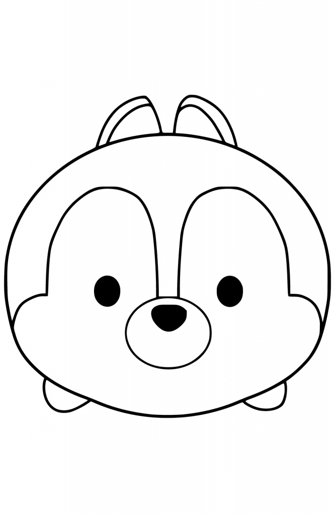 Chip and Dale Coloring Pages (2) | Disneyclips.com | 1024x666