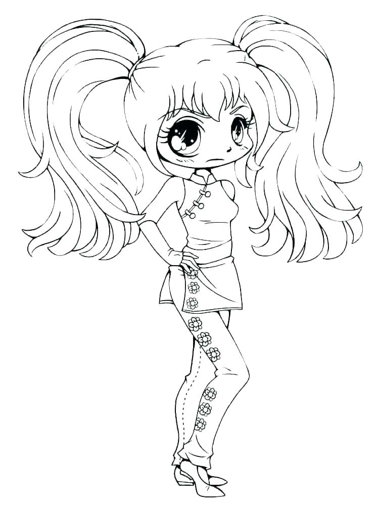 Cute Girl Coloring Pages Idea Whitesbelfast