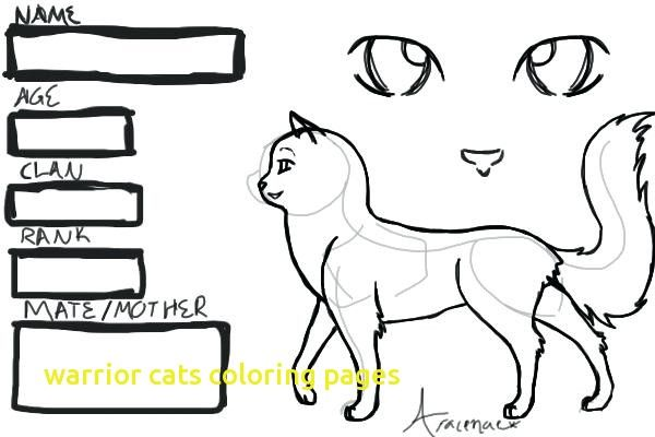 - Warrior Cat Coloring Pages Picture - Whitesbelfast