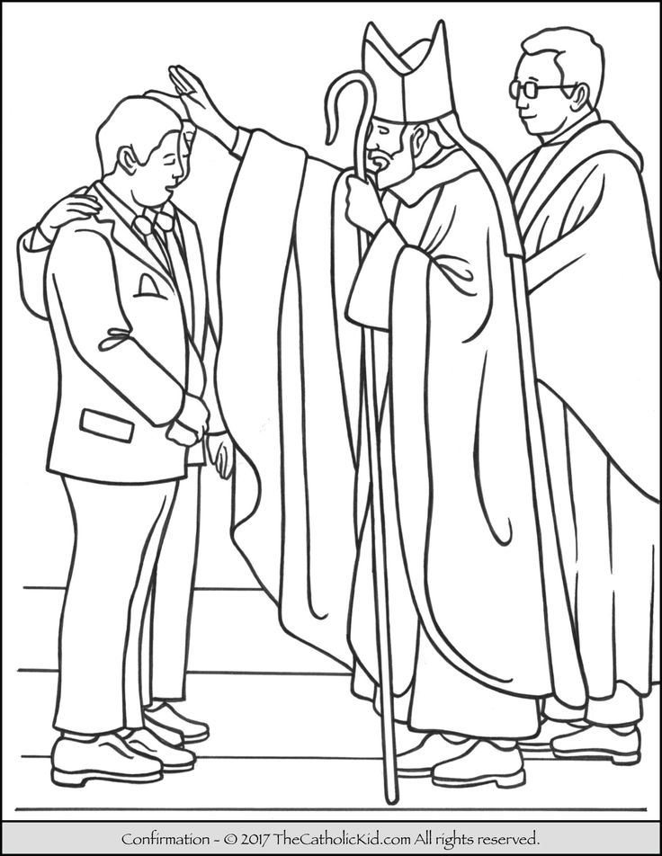 - Catholic Coloring Pages Picture - Whitesbelfast