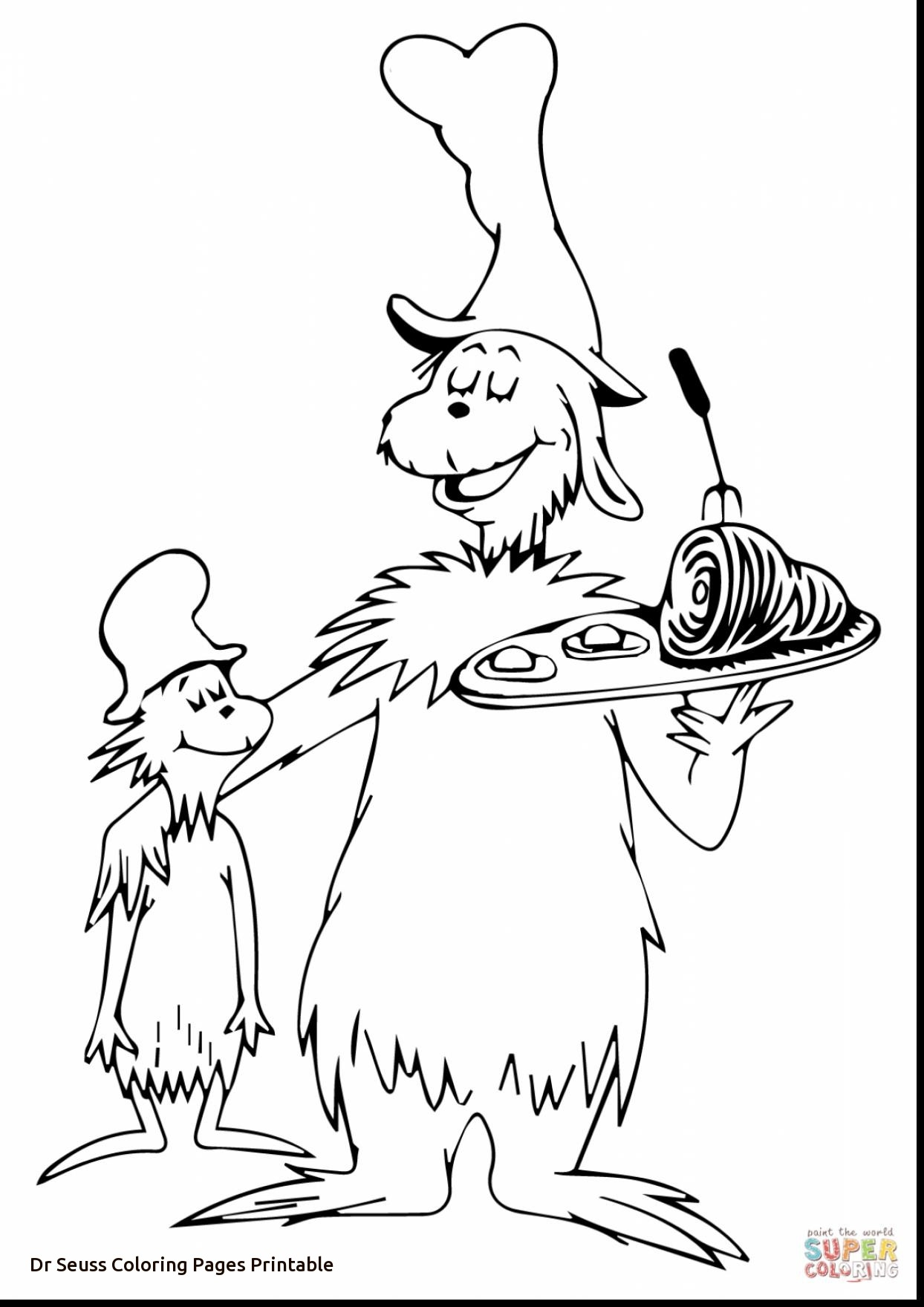 Cat In The Hat Coloring Pages Printable Pictures Whitesbelfast Com