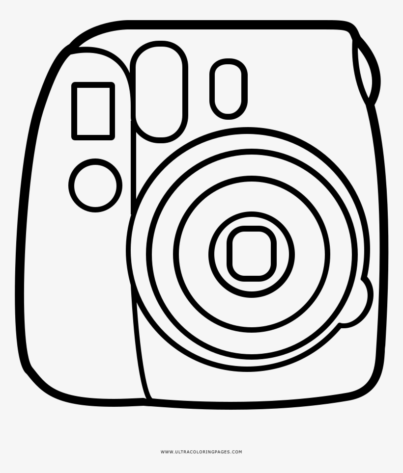Camera Coloring Pages Idea - Whitesbelfast